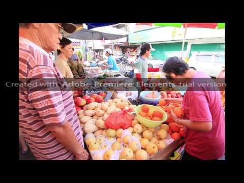 Morning market at Section 17, Petaling Jaya, Selangor, Malaysia