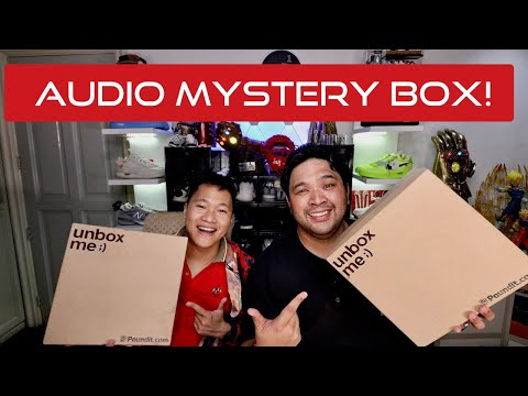 p40,000-audio-mystery-box-unboxing!-($800)