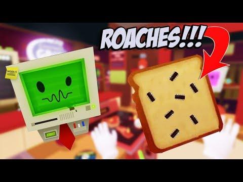 Disgruntled Gourmet Chef Caught serving ROACH SANDWICHES! - Job Simulator Gameplay