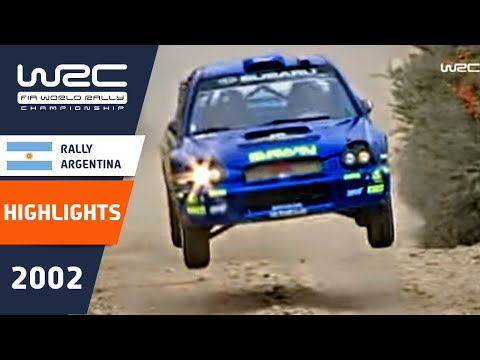 WRC Daily Highlights: Argentina 2002 Day 1: 26 Minutes