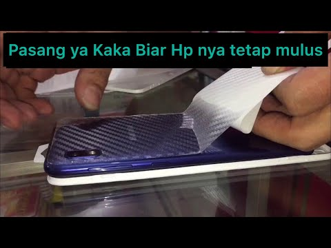 How To Install Carbon Sticker Skin For Samsung A10