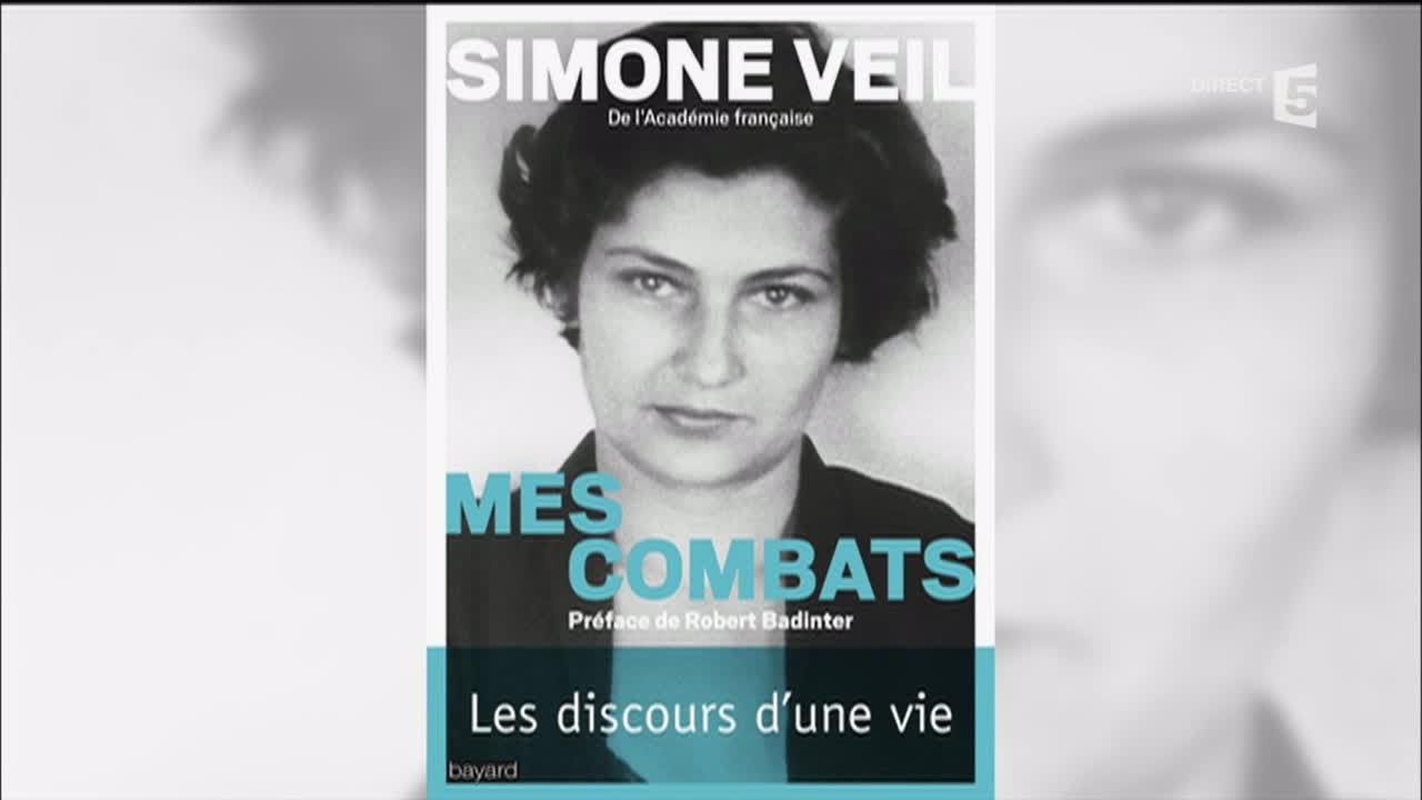 Simone Veil, par ses enfants , C à vous , 17/10/2016