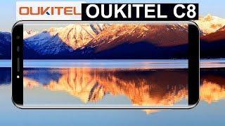 Oukitel C8 Un 18:9 para todos los bolsillos.