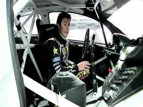 inside tanner foust 39 s rockstar ford fiesta rally car youtube. Black Bedroom Furniture Sets. Home Design Ideas