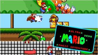 Ultra Mario. Magic Adventure (Demon ) • Super Mario World ROM Hack