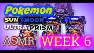 (ASMR) Pokemon Ultra Prism (Opening 5 Packs) Week 6