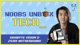 Noobs Unbox Tech #1: Gigabyte Vision D Z590i Motherboard