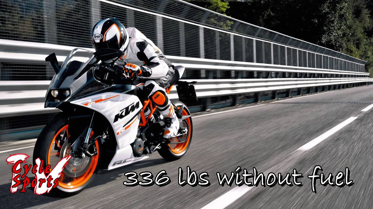 2015 ktm rc390 and rc390 cup - youtube