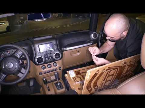 Jeep cockpit dekor, Exclusive 3D Ausführung,