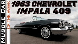1963 Chevrolet Impala 409 425HP Convertible - Muscle Car Of The Week Video Episode 327