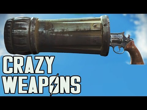 FALLOUT 4 - TOP 5 INSANE WEAPONS!