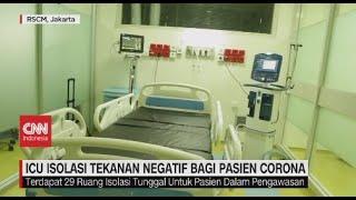 ICU Isolasi Tekanan Negatif bagi Pasien Corona