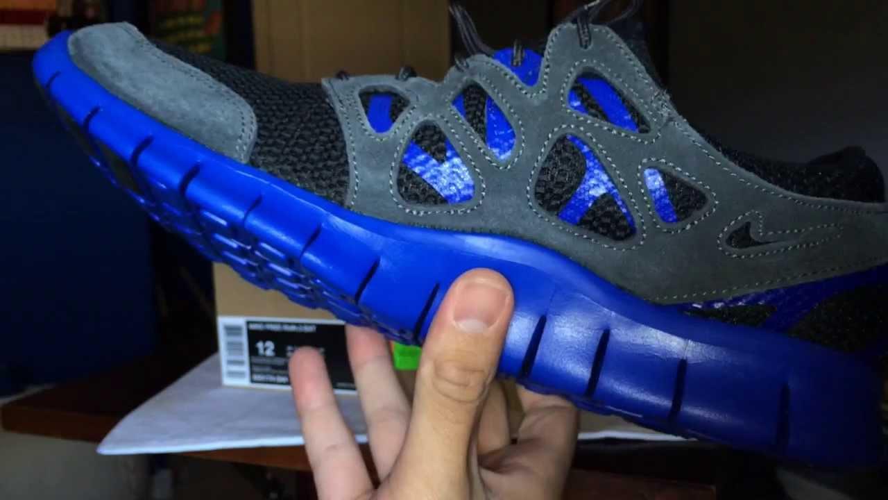 Nike Free Run 2 EXT Black Hyper Blue HD