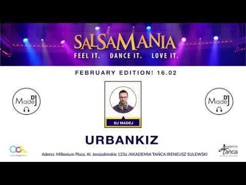 Urban Kiz 2019 - DJ Madej  set  Salsamania Warsaw tarraxa ghetto zouk