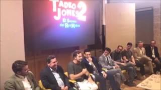 Video David Bisbal Presentacion Tadeo Jones 2 / Todo es posible / Granada,Alhambra 06/07/2017 download MP3, 3GP, MP4, WEBM, AVI, FLV November 2017