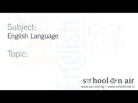 English Language: Idioms 2