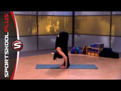How to do a Standing Forward Bend Yoga Pose with Nancy Goodstein