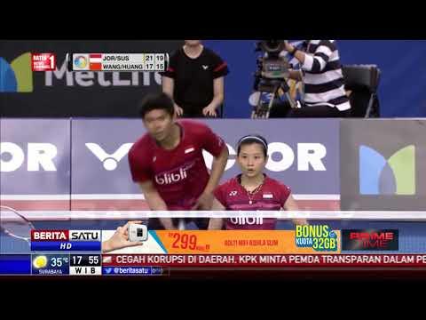 Indonesia Raih Dua Gelar Juara Korea Open Super Series