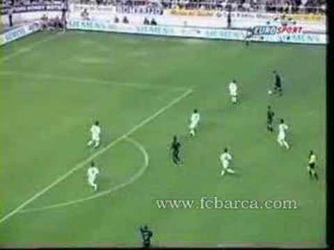 Mejores momentos de Patrick Kluivert con el Barça