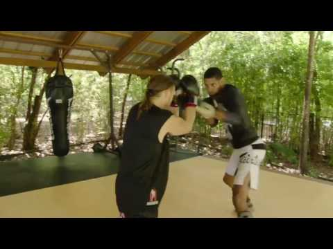 Tim Duncan is skilled in the art of hand-to-hand combat