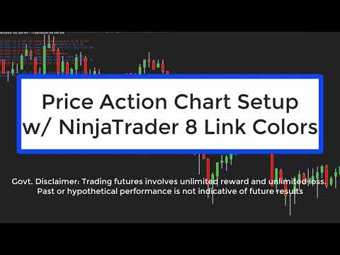 Advanced Chart Setup w/ NinjaTrader 8 Linking Colors, Markets, Chart Types, DOM, Indicators