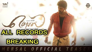 Mersal Official Teaser Record Breaking Thalapathy Vijay Samantha Kajal AR Rahman Atlee