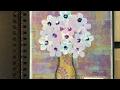 Art Journal Prompts Week 23 - Bloom