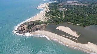 Arugam Bay Sri Lanka Surfing at Main Point and Elephant Rock via Drone Dji