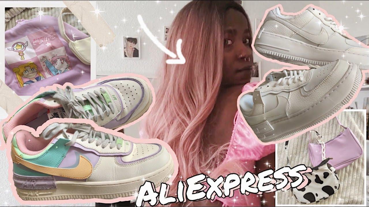 ⚡Haul Aliexpress||clones,accesorios,nike✨