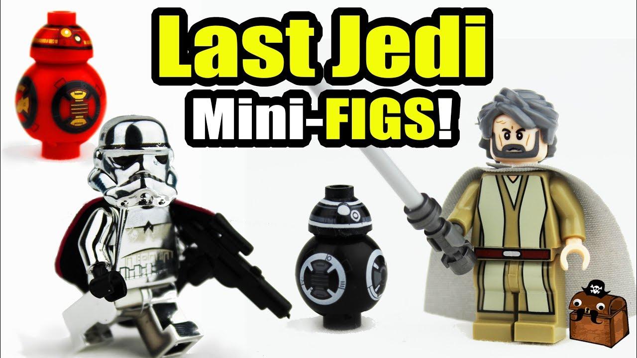 Star Wars The Last JEDI LEGO Custom Minifigures 2017