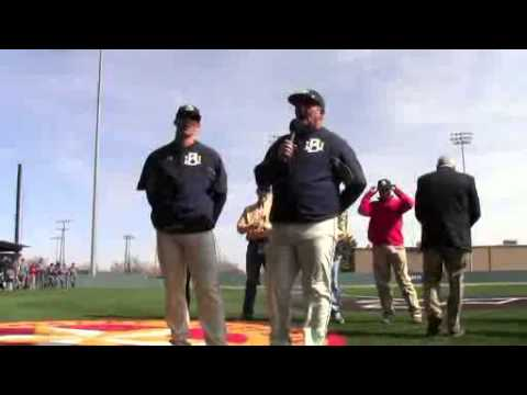 Wayland Baptist Baseball Turf Dedication