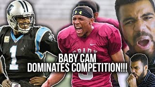 Cam Newton's Little Brother Throws A Better Ball Than Him!!!- Caylin Newton Highlights [Reaction]