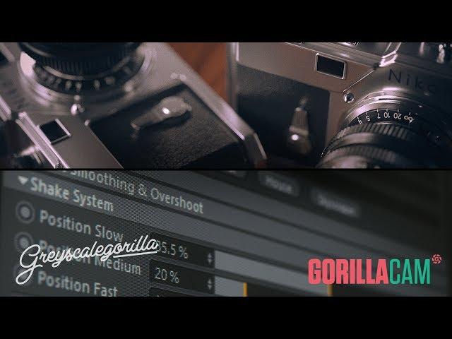 GorillaCam - Make Realistic Camera Animation In Cinema 4D
