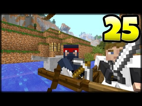 Minecraft Amplified Adventures Episode 25 - The Search Party - PS4 Console Edition