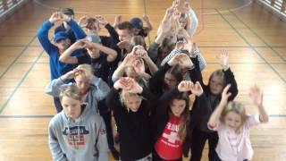 7a fra Frydenstrandskolen kommer i selvsving