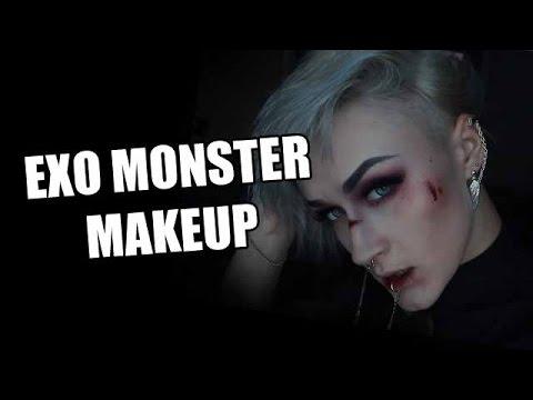 EXO MONSTER INSPIRED MAKEUP & SHITTALK