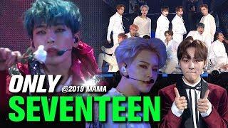 SEVENTEEN(세븐틴) at 2019 MAMA All Moments