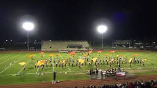 "Cherry Hill East Marching Band Performs ""The Firebird"" 11/3/2018"