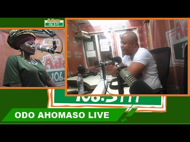 Odo Ahomaso on Adom FM (25-7-18)