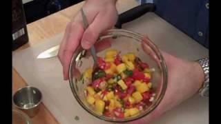 Fried Fish with Mango Salsa