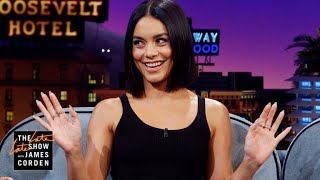 Vanessa Hudgens Defends Halloween from British Ridicule
