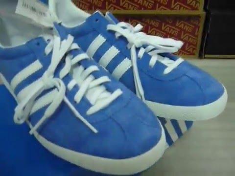 adidas gazelle og blue and green