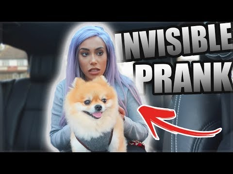 INVISIBLE PRANK ON ANGRY SISTER!! 👻😂 (SHE WENT CRAZY)