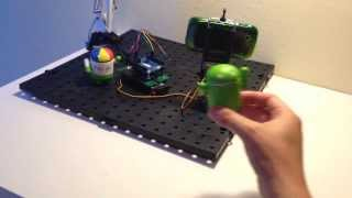 Android OpenCV BugDroid Tracking by Al B on YouTube