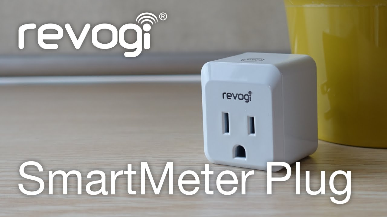 Revogi SMARTMeter Plug -  New Bluetooth controlled SMART Socket