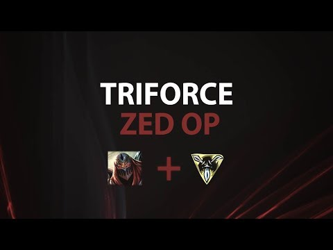 LEAGUE OF STYLISH #11 - TRIFORCE ZED IS SO BUSTED!!