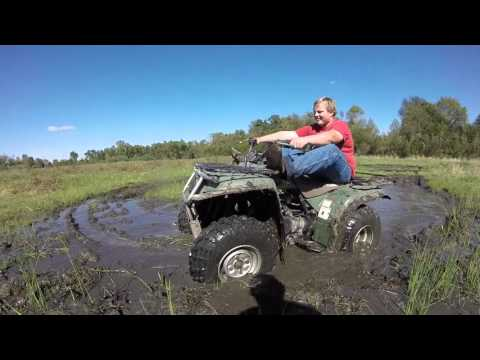 Yamaha Timberwolf 250 4x4 Mudding (Part 1)