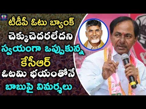 CM KCR  Fear of TDP Vote Bank in Telangana | KCR  vs Chandrababu Naidu  |TFC NEWS