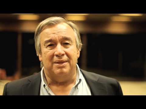 António Guterres - Alto Comissário das Nações Unidas para os refugiados