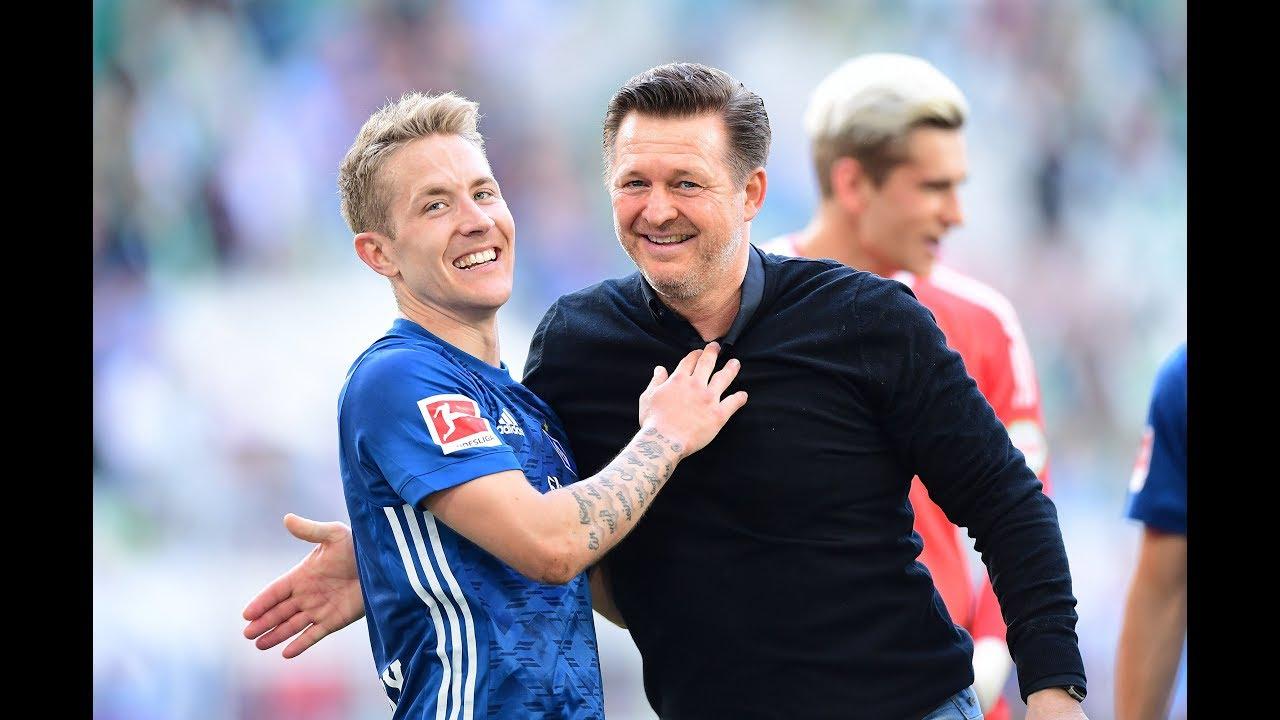 """HSV-Coach Christian Titz zur Kaderplanung: """"Wollen mit Hunt und Holtby verlängern"""""""